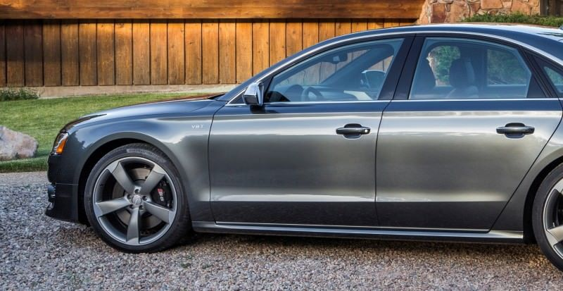 2015 Audi S8 with 520HP and 3.9s to 60MPH Is Quickest and Definitely The Coolest A8  44