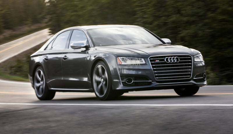 2015 Audi S8 with 520HP and 3.9s to 60MPH Is Quickest and Definitely The Coolest A8  58