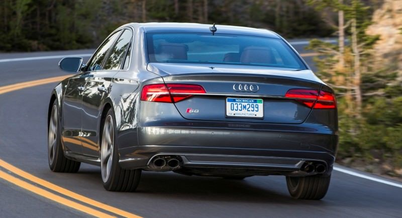 2015 Audi S8 with 520HP and 3.9s to 60MPH Is Quickest and Definitely The Coolest A8  62