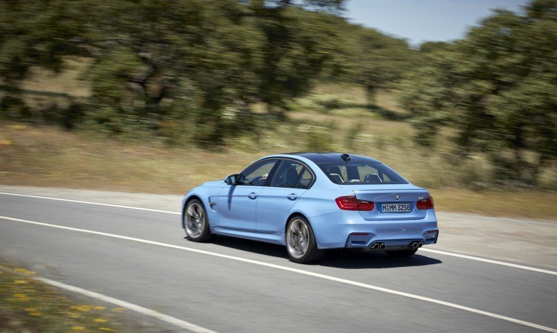 2015 BMW M3 and M4 Meet The Legacy in 52 New Photos With E30 Sport Evolution, E36 M3 Sedan, E46 and E90 30