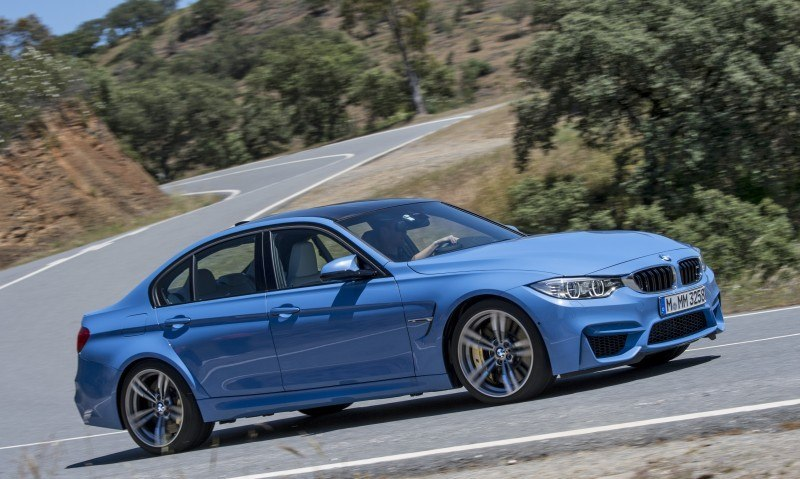 2015 BMW M3 and M4 Meet The Legacy in 52 New Photos With E30 Sport Evolution, E36 M3 Sedan, E46 and E90 33