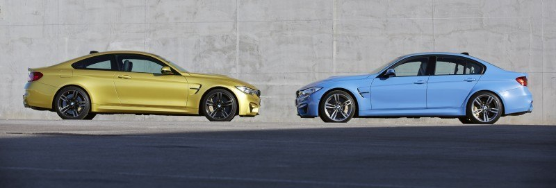 2015 BMW M3 and M4 Meet The Legacy in 52 New Photos With E30 Sport Evolution, E36 M3 Sedan, E46 and E90 4