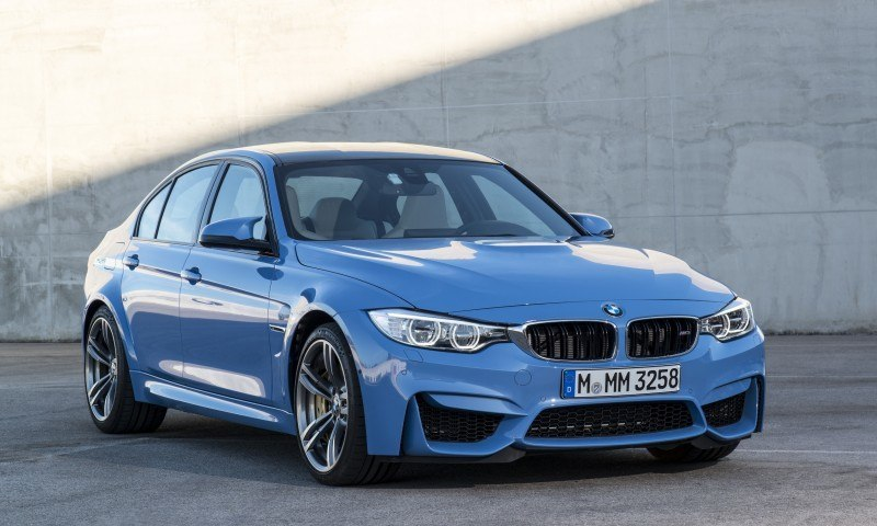 2015 BMW M3 and M4 Meet The Legacy in 52 New Photos With E30 Sport Evolution, E36 M3 Sedan, E46 and E90 42
