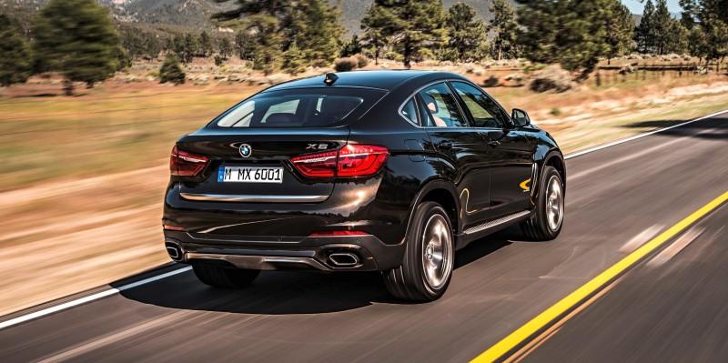 2015 BMW X6 Debuts Tech-tastic 445HP xDrive50i and New Rear-Drive sDrive35i 10