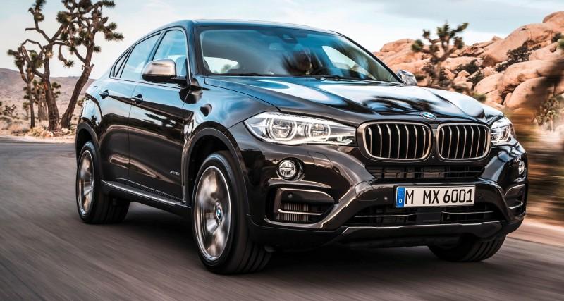 2015 BMW X6 Debuts Tech-tastic 445HP xDrive50i and New Rear-Drive sDrive35i 14