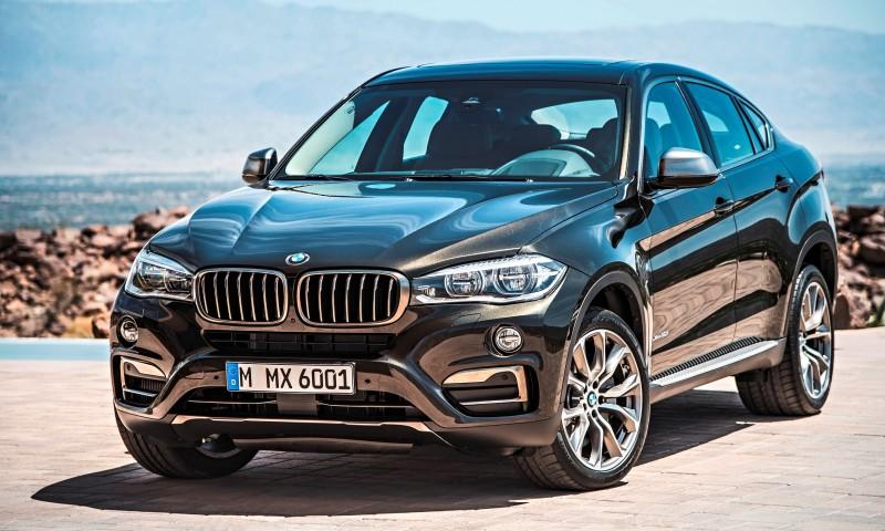 2015 BMW X6 Debuts Tech-tastic 445HP xDrive50i and New Rear-Drive sDrive35i 19