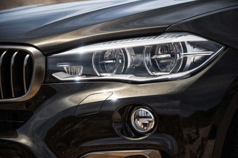 2015 BMW X6 Debuts Tech-tastic 445HP xDrive50i and New Rear-Drive sDrive35i 27