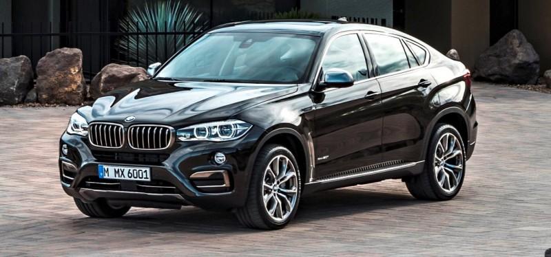 2015 BMW X6 Debuts Tech-tastic 445HP xDrive50i and New Rear-Drive sDrive35i 34