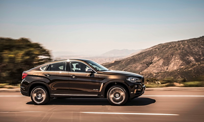 2015 BMW X6 Debuts Tech-tastic 445HP xDrive50i and New Rear-Drive sDrive35i 7
