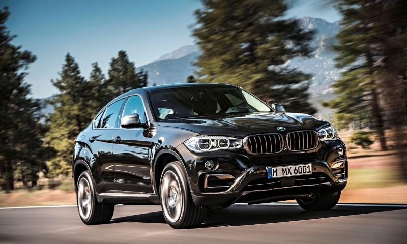 2015 BMW X6 Debuts Tech-tastic 445HP xDrive50i and New Rear-Drive sDrive35i 9