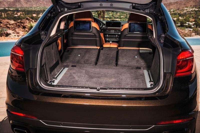 2015 BMW X6 xDrive50i INTERIOR 19