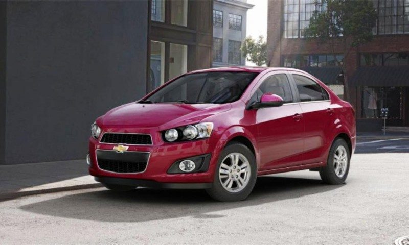 2015 Chevy Sonic RS Sedan COLORS and Buyers Guide Info 14