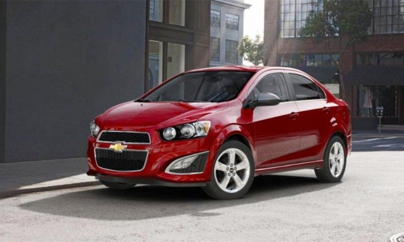 2015 Chevy Sonic RS Sedan COLORS and Buyers Guide Info 38