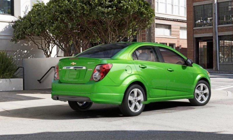 2015 Chevy Sonic RS Sedan COLORS and Buyers Guide Info 48