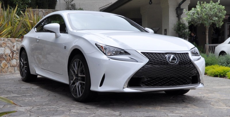 2015 Lexus RC350 F Sport EXCLUSIVE 8-Speed Auto, AWD, 4WS and Adaptive Suspension! 1