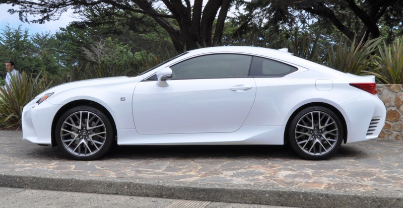 2015 Lexus RC350 F Sport EXCLUSIVE 8-Speed Auto, AWD, 4WS and Adaptive Suspension! 17