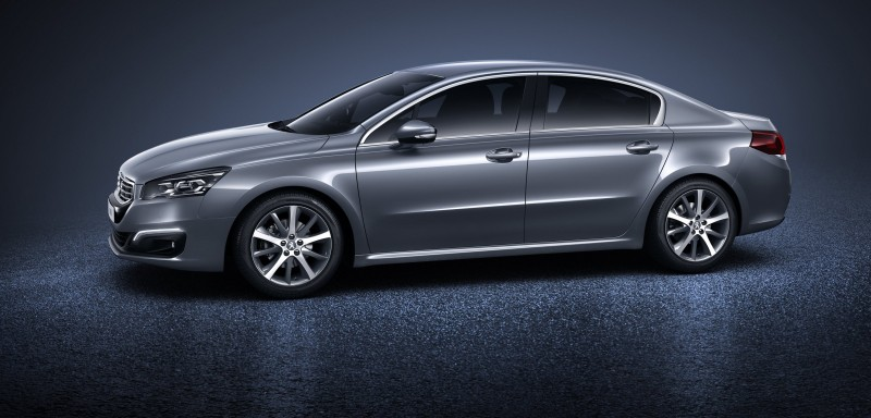 2015 Peugeot 508 Facelifted With New LED DRLs, Box-Design Beams and Tweaked Cabin Tech 6