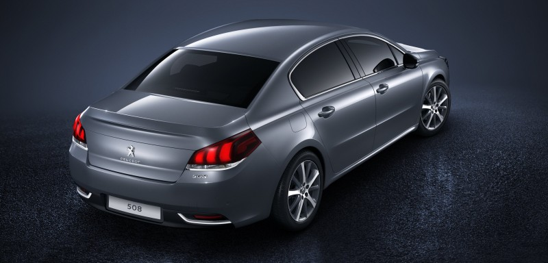 2015 Peugeot 508 Facelifted With New LED DRLs, Box-Design Beams and Tweaked Cabin Tech 7