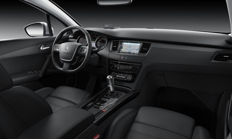 2015 Peugeot 508 Facelifted With New LED DRLs, Box-Design Beams and Tweaked Cabin Tech 8
