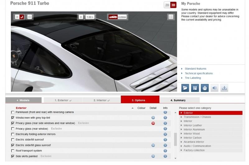 2015 Porsche 911 Turbo S - Configurator Options 20