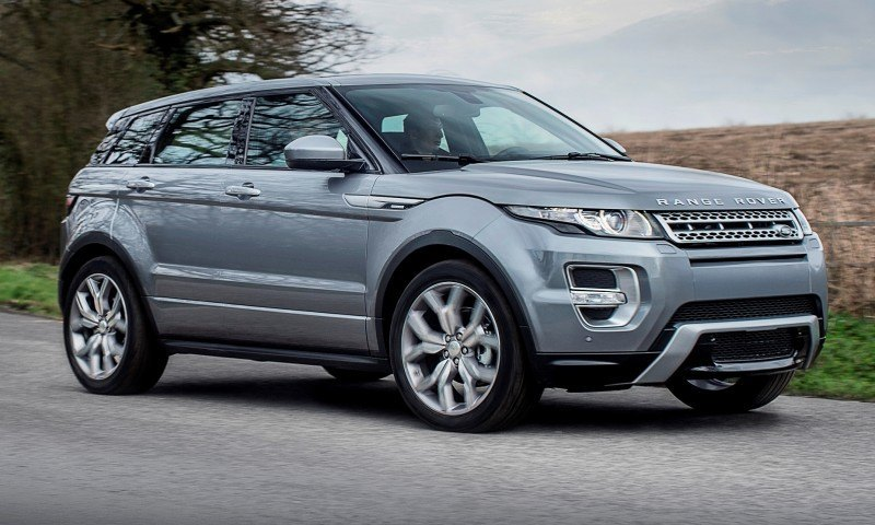 2015 Range Rover Evoque Gains 9-Speed Auto, Refreshed Info Tech and Boosted Engine HP 4