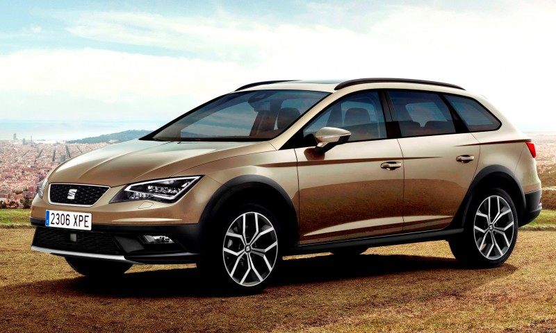 2015 SEAT Leon X-Perience Is Gravel-Ready Estate Car Coming to European Dealers In November 1