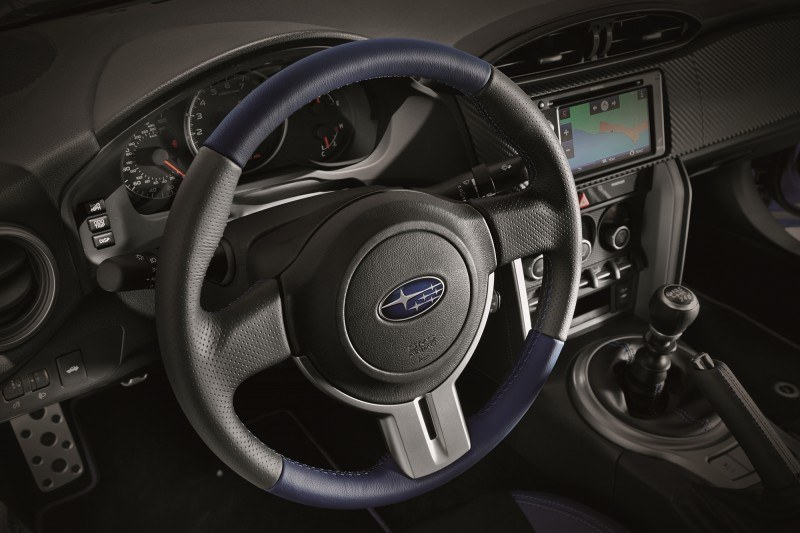 2015 Subaru BRZ Brings Detail Tweaks and STI Goodies Via Series.Blue Limited-Edition 4