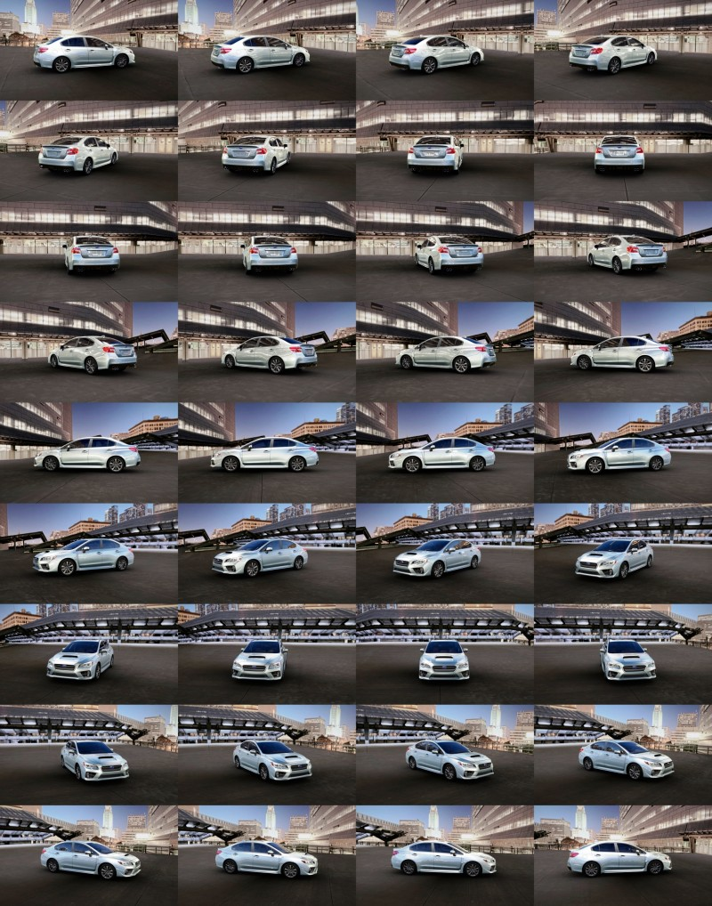 2015 Subaru WRX Colors 11