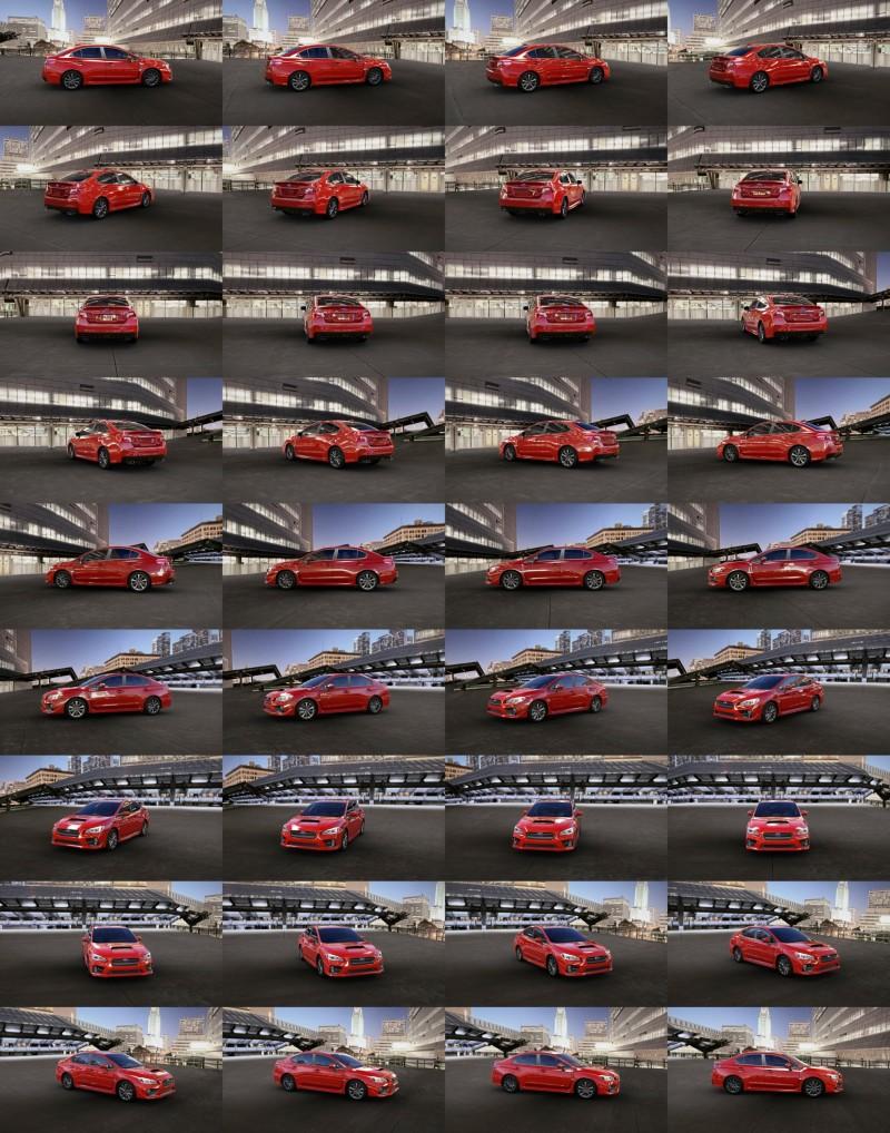 2015 Subaru WRX Colors 2
