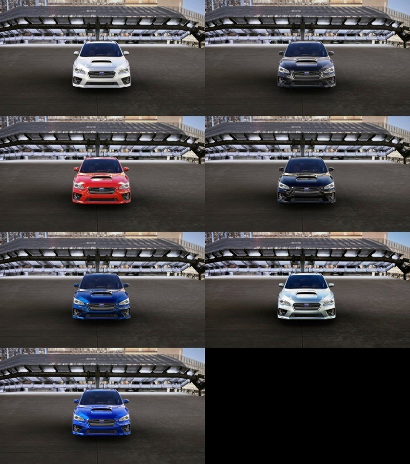 2015 Subaru WRX Colors 26
