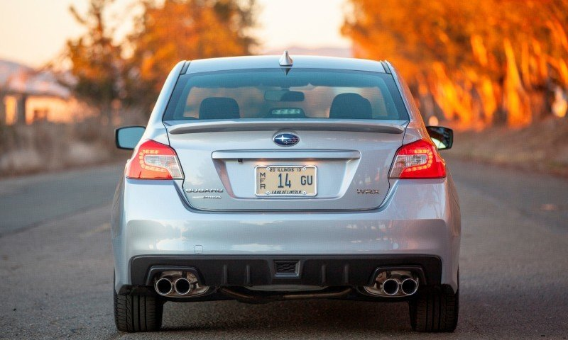2015 Subaru WRX Hits The Gravel In 90 New Photos in Four Colors 3