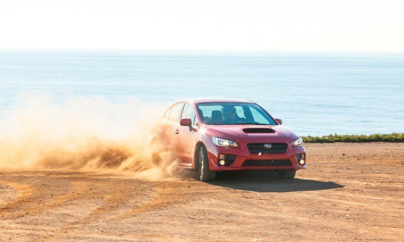 2015 Subaru WRX Hits The Gravel In 90 New Photos in Four Colors 30