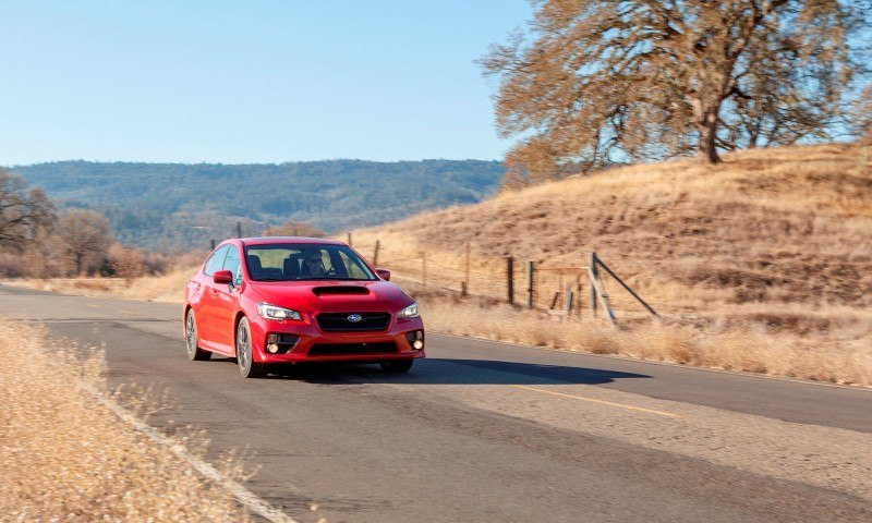 2015 Subaru WRX Hits The Gravel In 90 New Photos in Four Colors 35