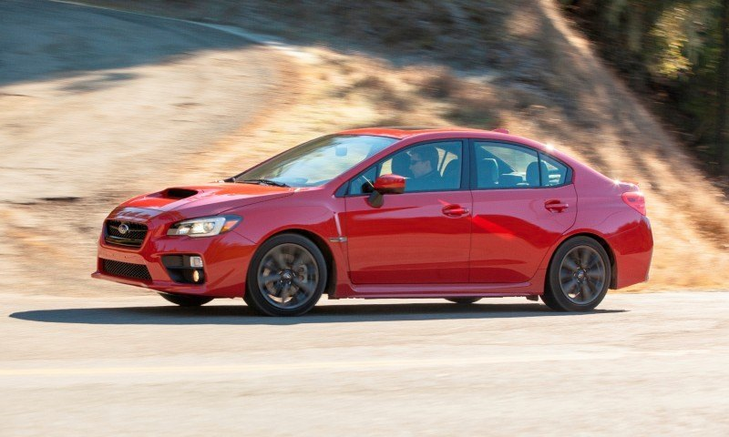 2015 Subaru WRX Hits The Gravel In 90 New Photos in Four Colors 36