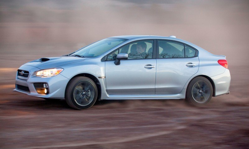 2015 Subaru WRX Hits The Gravel In 90 New Photos in Four Colors 39
