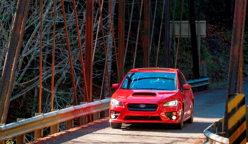 2015 Subaru WRX Hits The Gravel In 90 New Photos in Four Colors 41