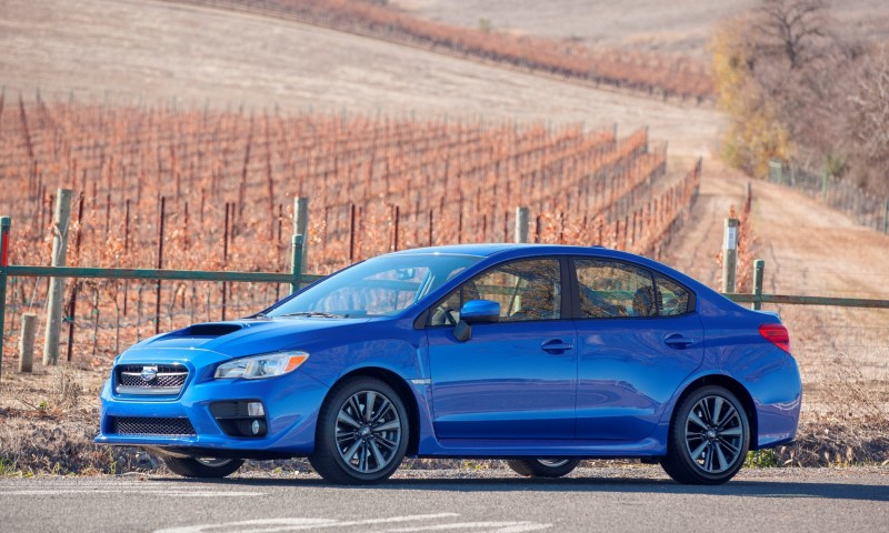 2015 Subaru WRX Hits The Gravel In 90 New Photos in Four Colors 45