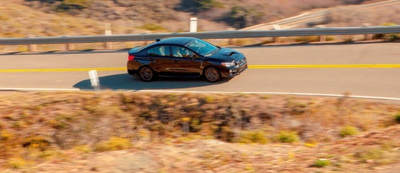 2015 Subaru WRX Hits The Gravel In 90 New Photos in Four Colors 61