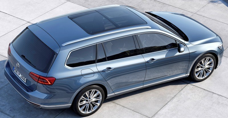 2015 Volkswagen Passat Debuts Fresh European-Model-Only Redesign 11