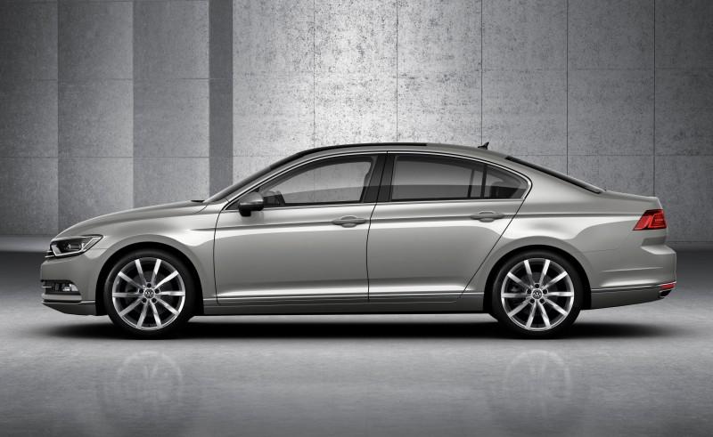 2015 Volkswagen Passat Debuts Fresh European-Model-Only Redesign 18