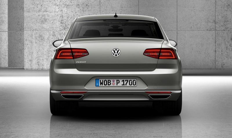 2015 Volkswagen Passat Debuts Fresh European-Model-Only Redesign 21