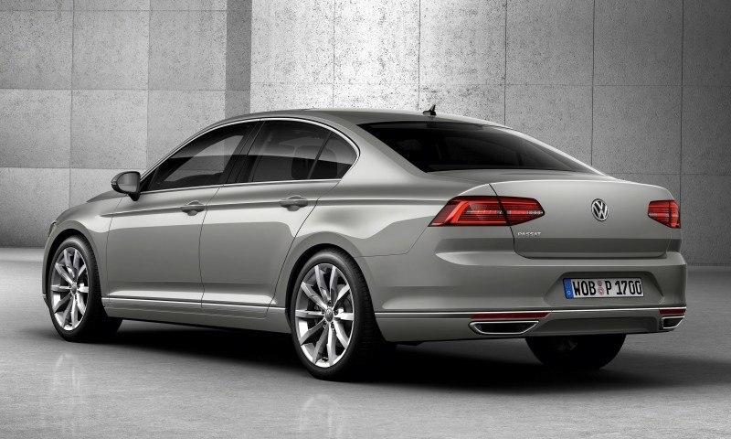 2015 Volkswagen Passat Debuts Fresh European-Model-Only Redesign 32