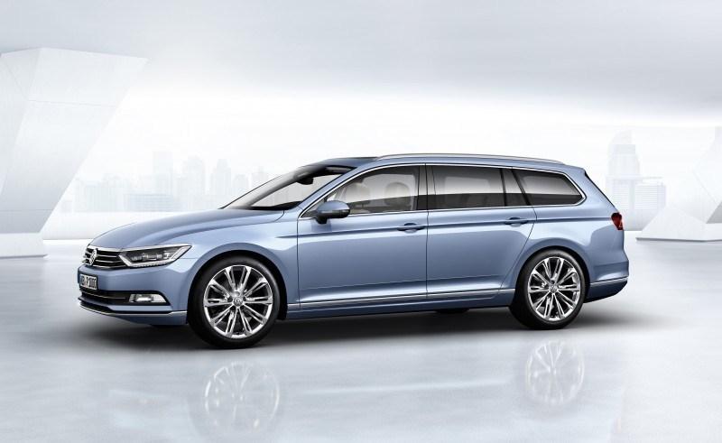 2015 Volkswagen Passat Debuts Fresh European-Model-Only Redesign 6