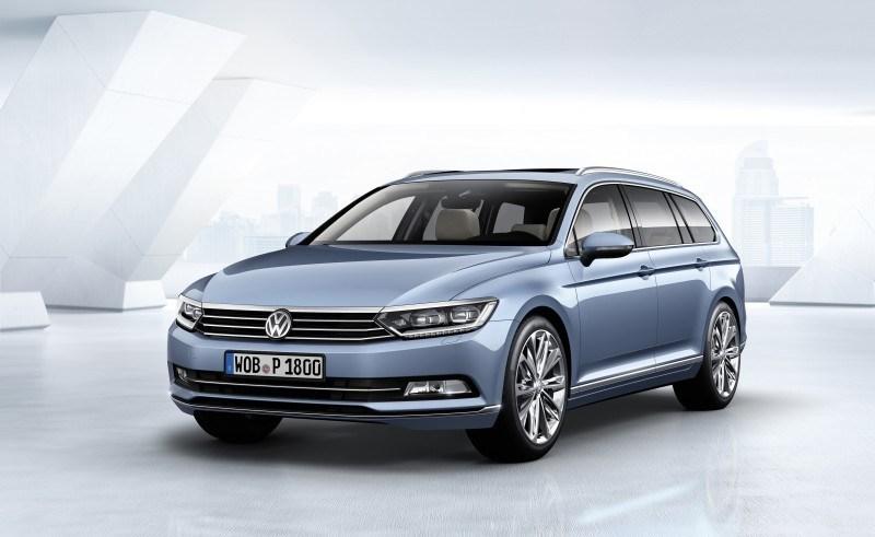 2015 Volkswagen Passat Debuts Fresh European-Model-Only Redesign 8