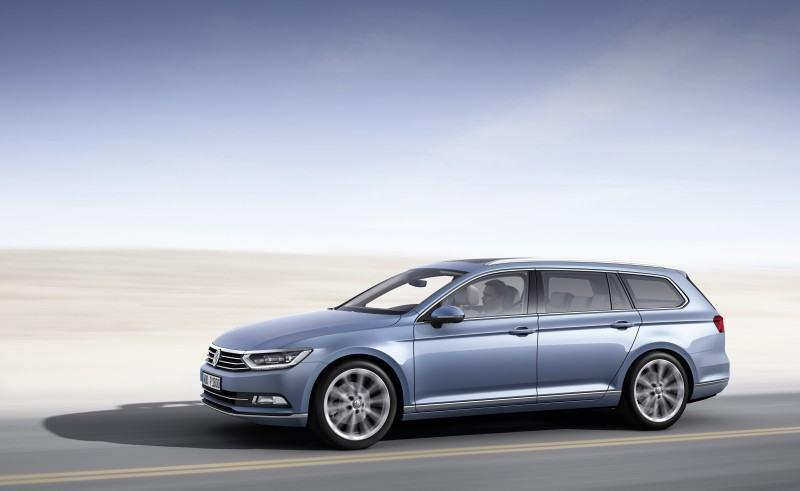 2015 Volkswagen Passat Debuts Fresh European-Model-Only Redesign 9