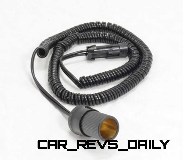 12v Auxiliary feed with cigarette lighter type socket