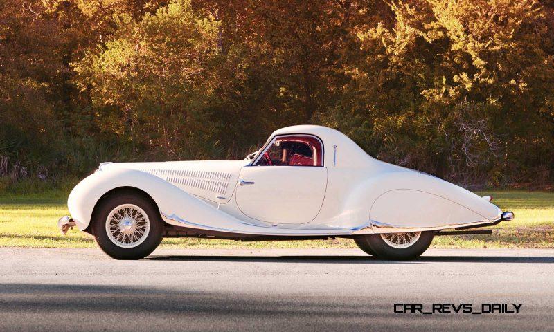 1938 Delahaye 135 MS Coupe by Figoni et Falaschi 5