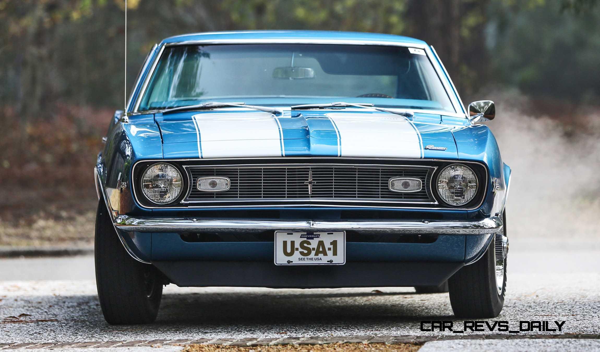 Classic Mustang Car Wallpaper 1968 Chevrolet Camaro Z28