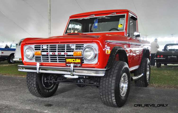 1970 Ford Bronco V8 Pickup 15