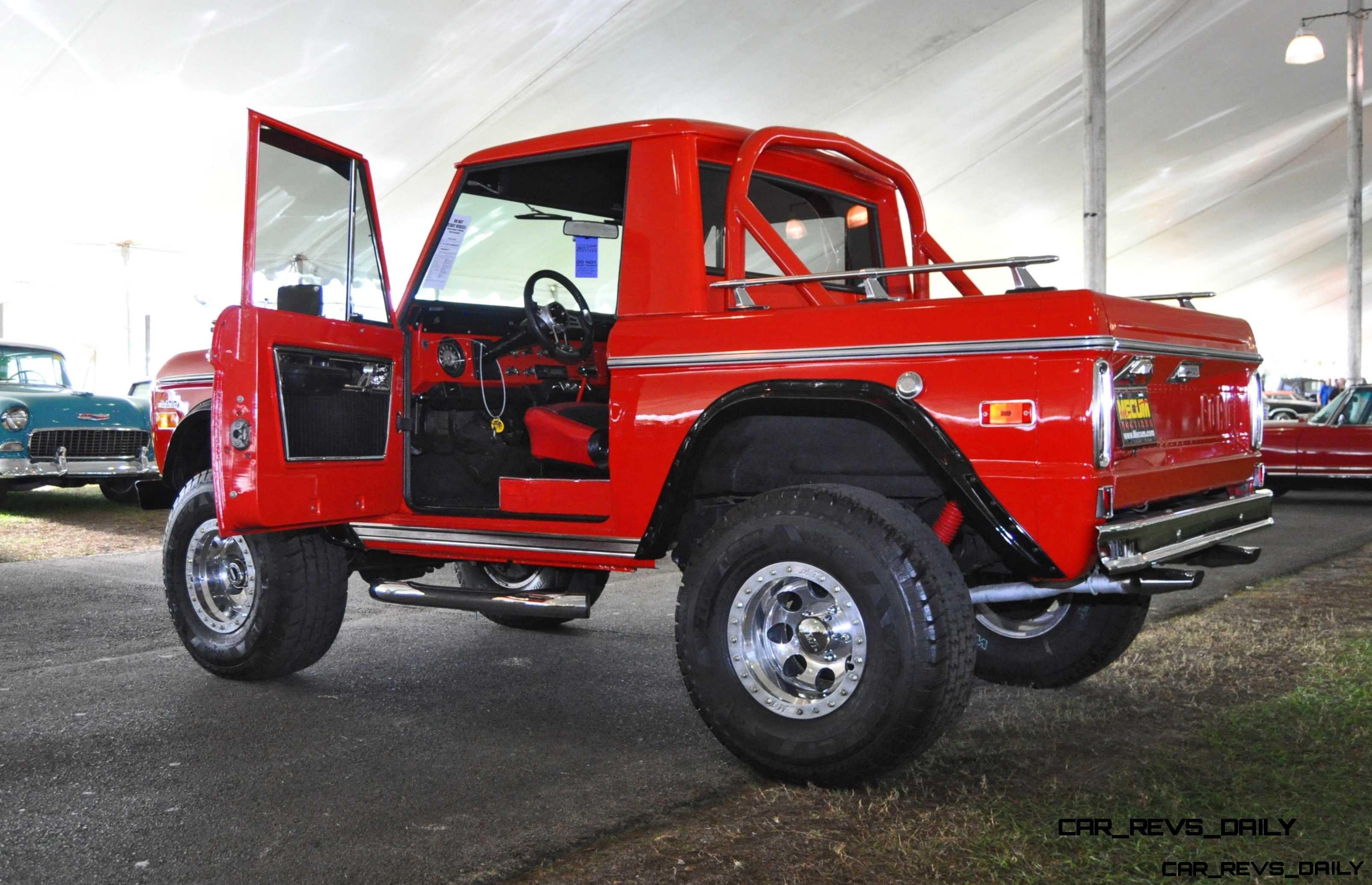 1970 Ford Bronco V8 Pickup 33